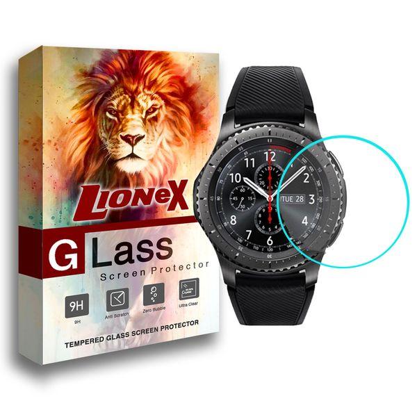 محافظ صفحه نمایش لایونکس مدل UPS مناسب برای ساعت هوشمند سامسونگ Gear S3