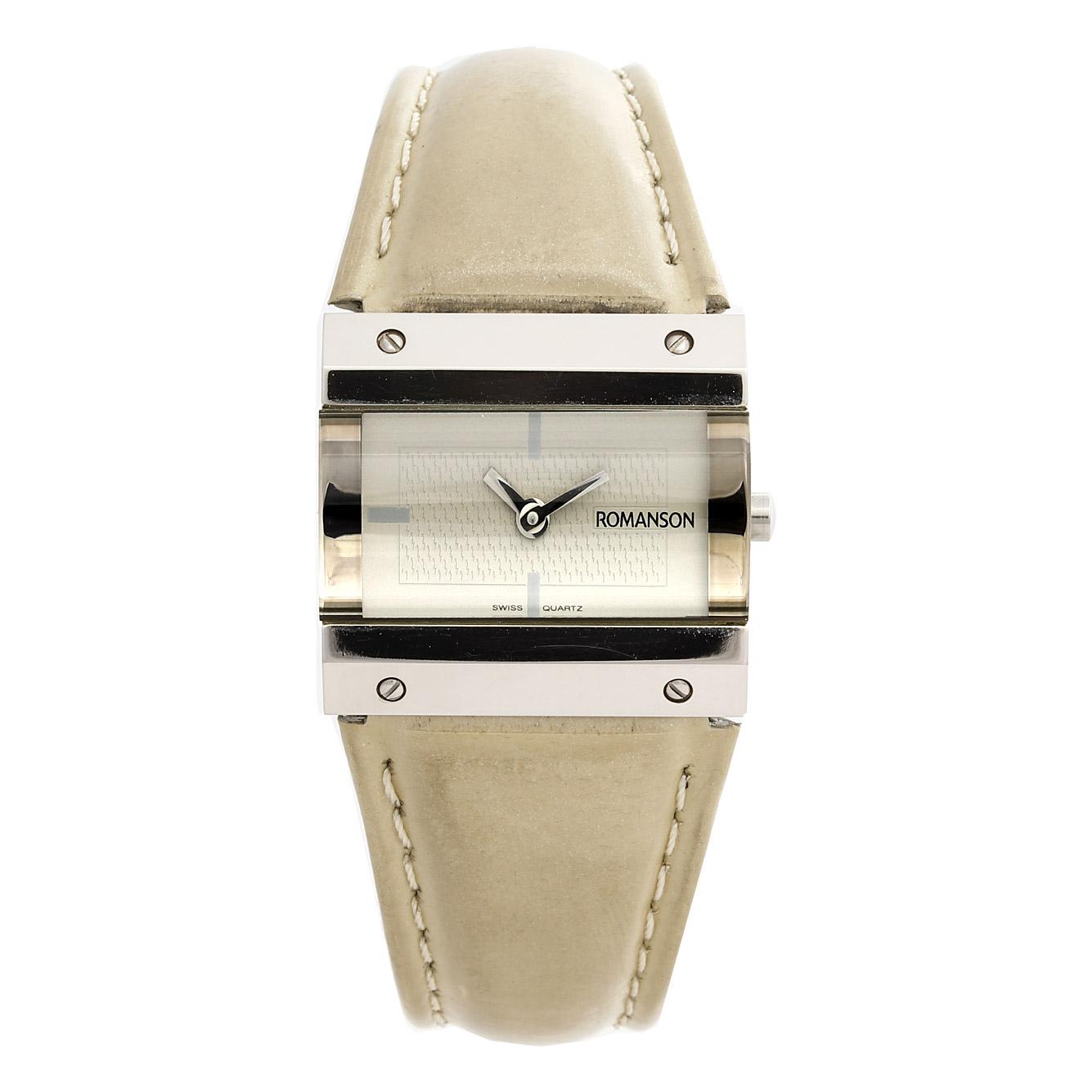 ساعت مچی عقربه ای زنانه رومانسون مدل DL2131LL1WAA2W