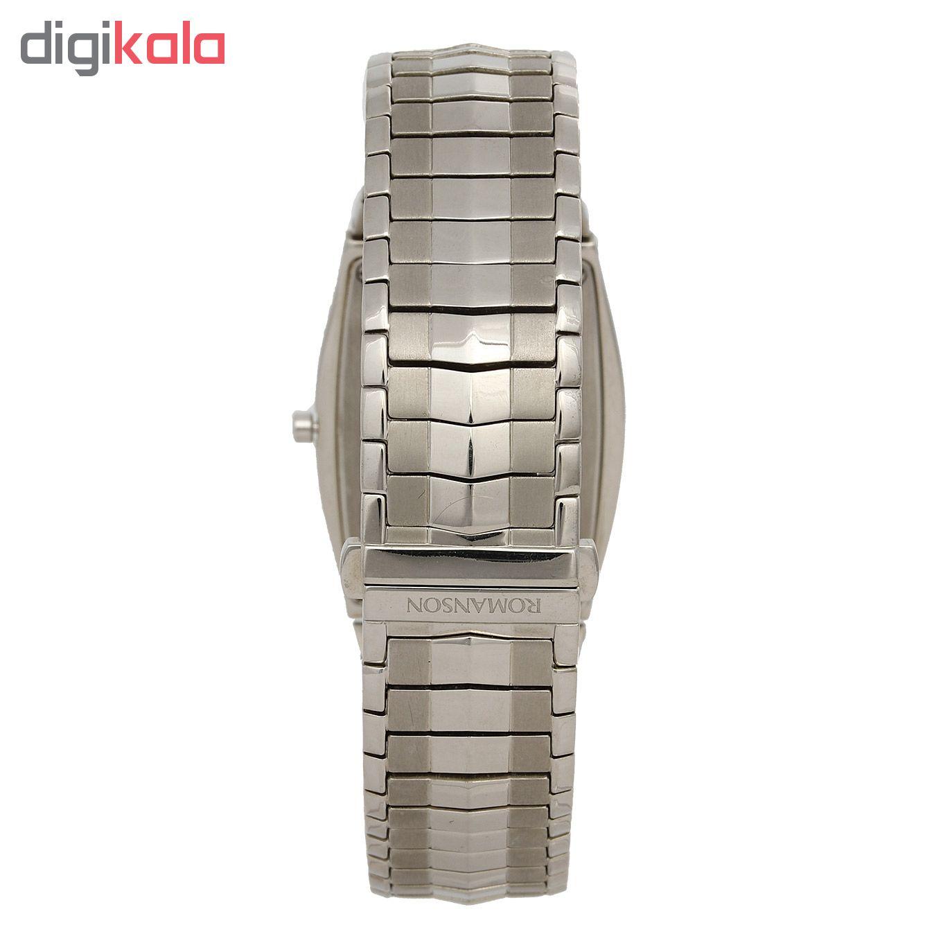 کد تخفیف                                      ساعت مچی عقربه ای مردانه رومانسون مدل EM1154QM1WAS2W