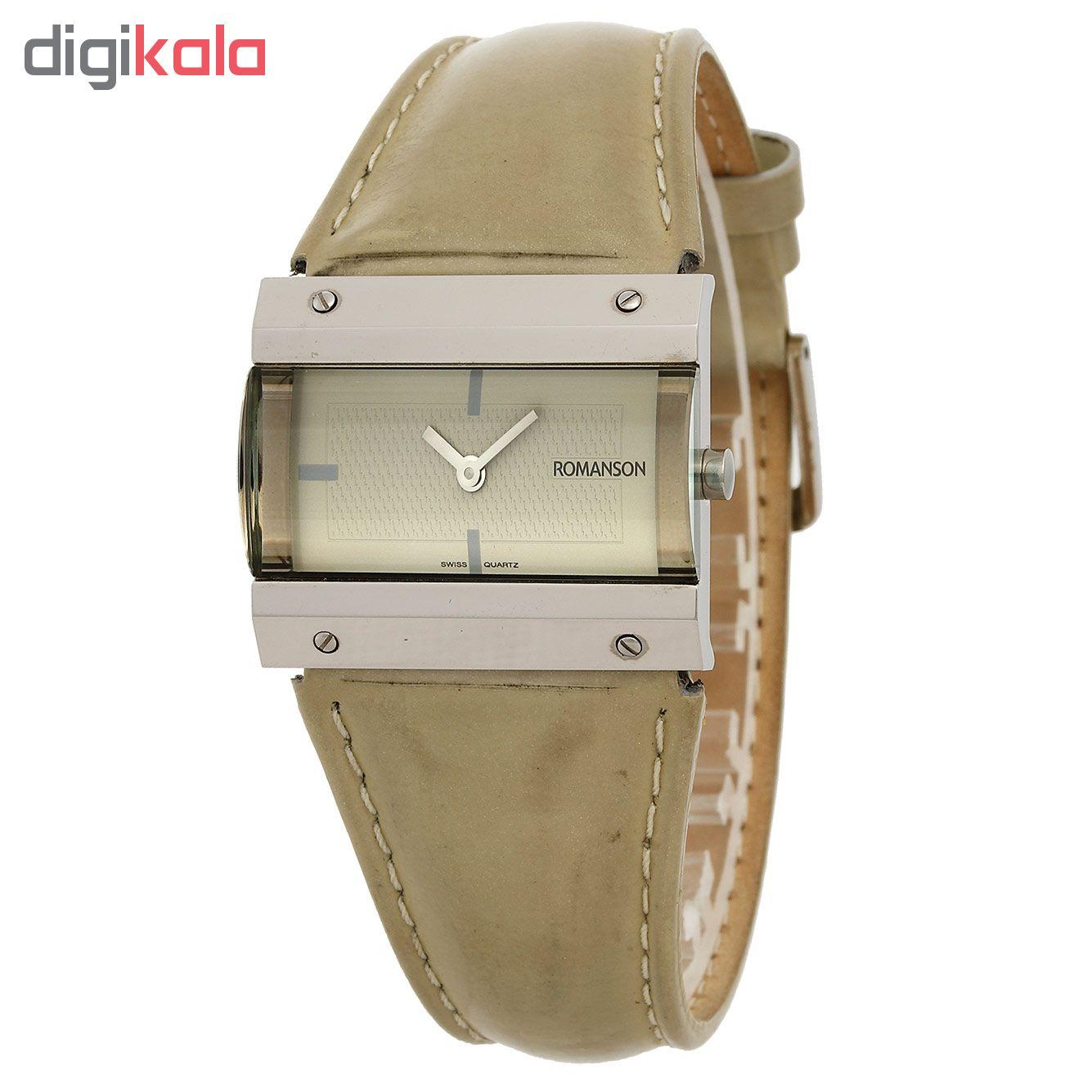 ساعت مچی عقربه ای مردانه رومانسون مدل DL2131MM1WAA2W