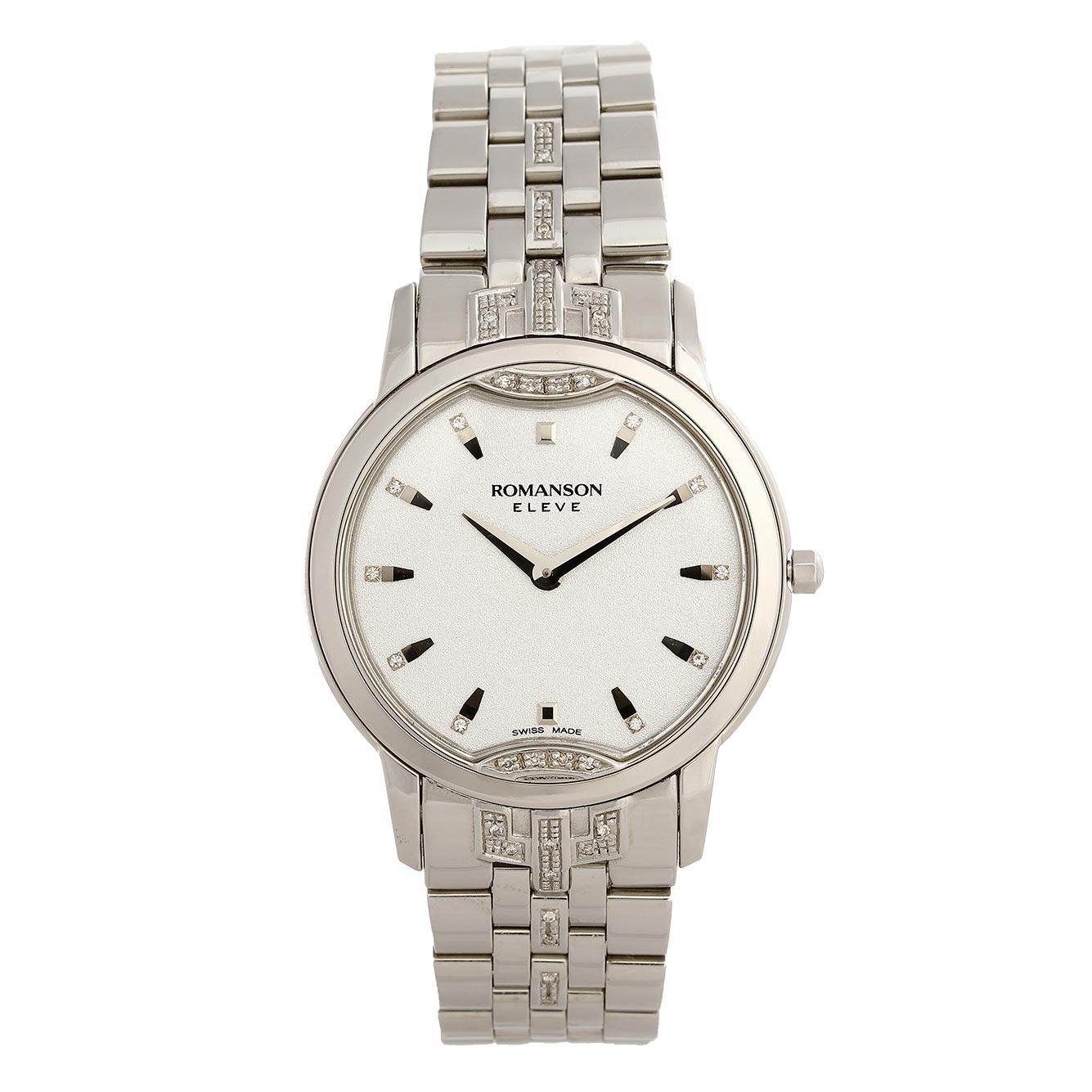 ساعت مچی عقربه ای مردانه رومانسون مدل EM3210KM1WAS2W