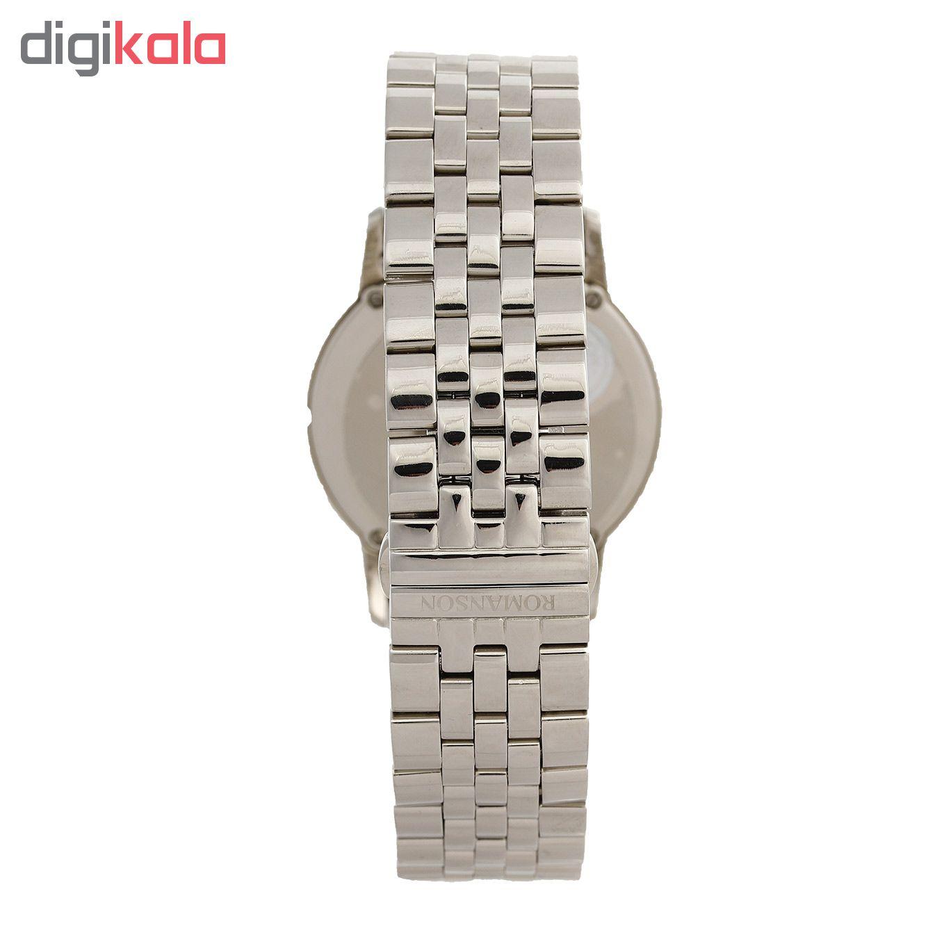 کد تخفیف                                      ساعت مچی عقربه ای مردانه رومانسون مدل EM3210KM1WAS2W