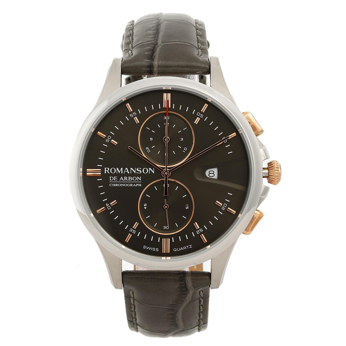 قیمت و خرید                      ساعت مچی عقربه ای مردانه رومانسون مدل CB5A09HMYJAAR5