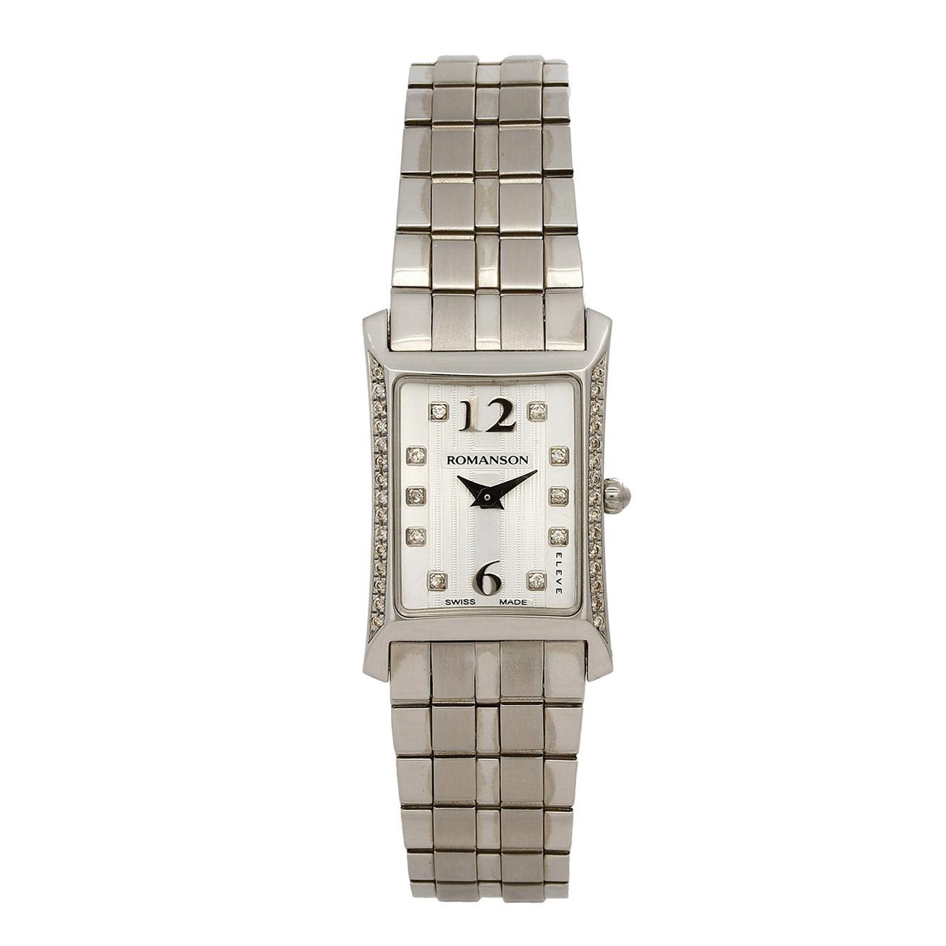 ساعت مچی عقربه ای زنانه رومانسون مدل EM5164KL1WAS2W 24