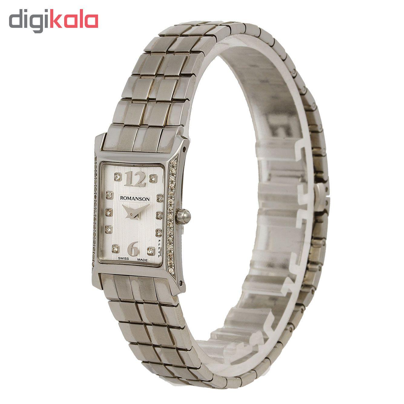 ساعت زنانه برند رومانسون مدل EM5164KL1WAS2W