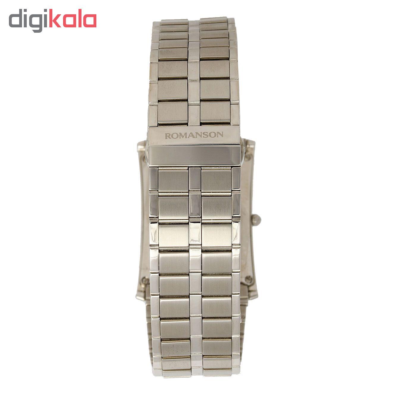 کد تخفیف                                      ساعت مچی عقربه ای مردانه رومانسون مدل EM5164KM1WAS2W
