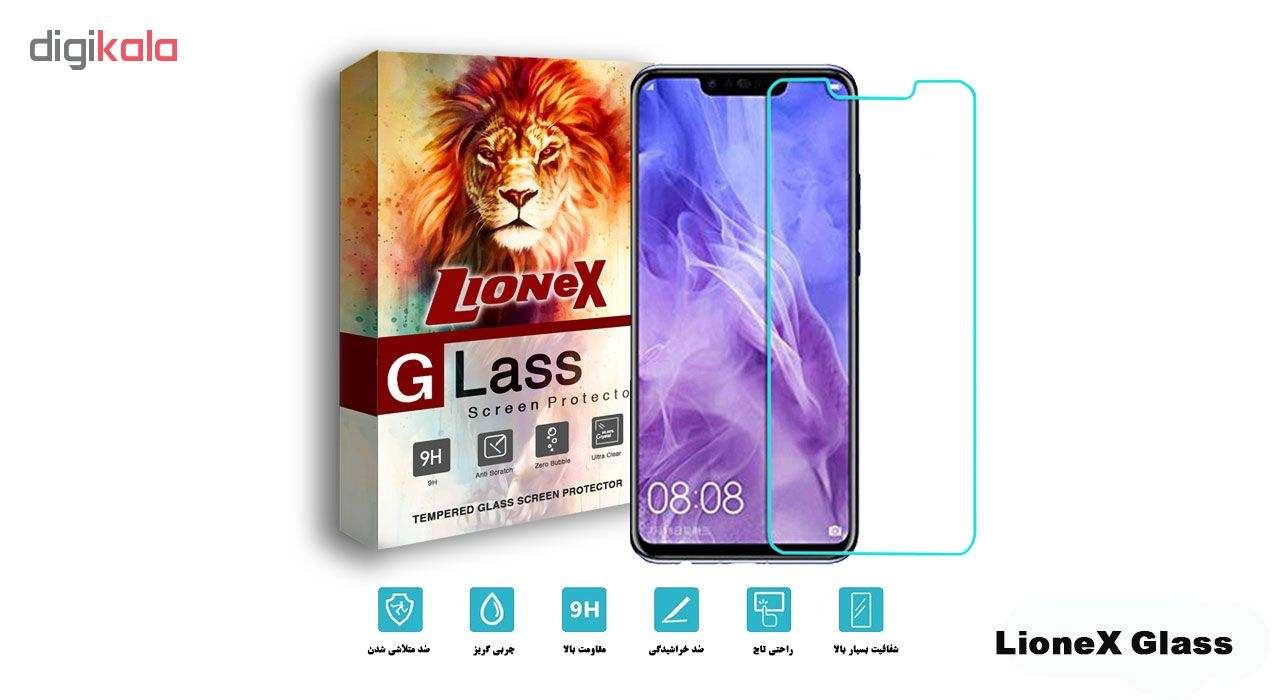 محافظ صفحه نمایش لایونکس مدل UPS مناسب برای گوشی موبایل هوآوی nova 3 / nova 3i / P Smart Plus main 1 2