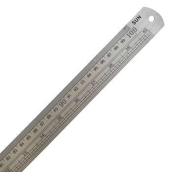 خط کش فلزی سان کد S22 سایز 100 سانتی متر  