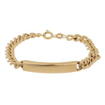 دستبند طلا 18 عیار گوی گالری مدل G107