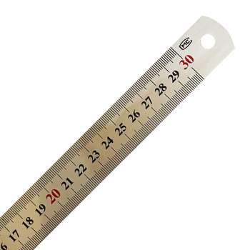 خط کش فلزی ام سی کد 88 سایز 30 سانتی متر