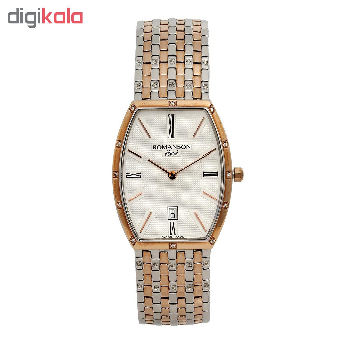کد تخفیف                                      ساعت مچی عقربه ای مردانه رومانسون مدل EM9250UM1JAS6R