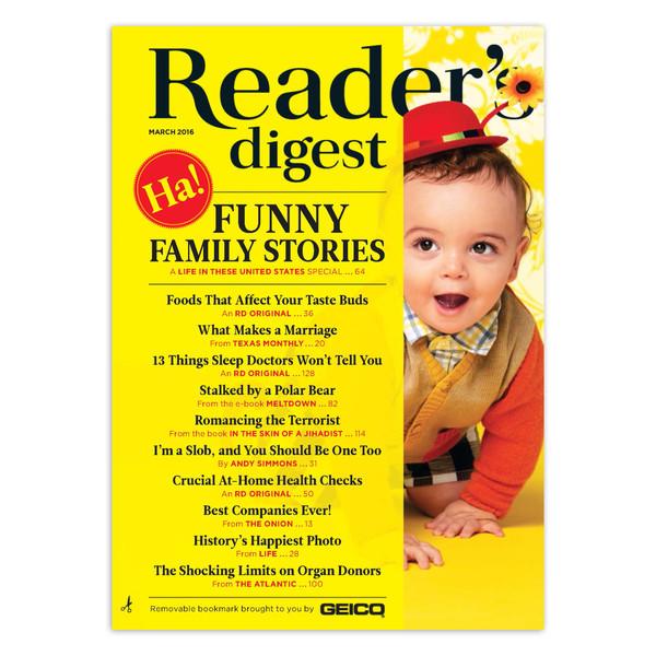 مجله Reader's Digest - مارس 2016