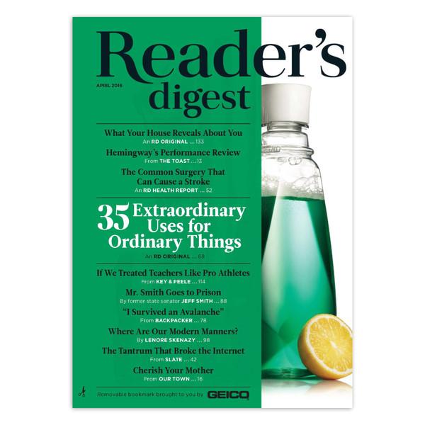مجله Reader's Digest - آوریل 2016