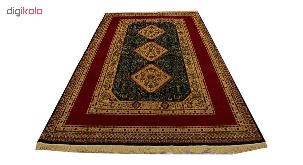 فرش دستبافت شش متری طرح قشقایی 1104511