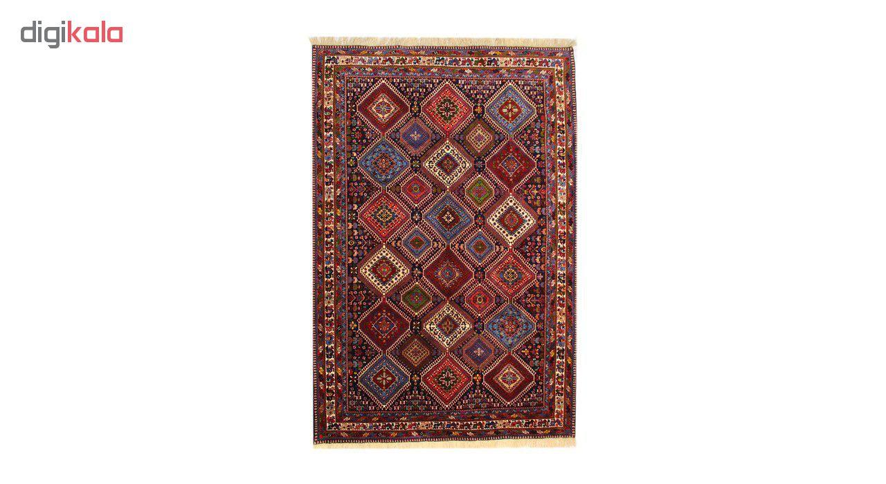 فرش دستبافت شش متری طرح یلمه کد1104512