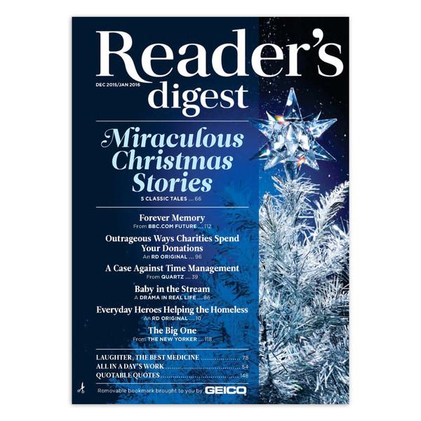 مجله Reader's Digest - دسامبر 2015/ژانویه 2016