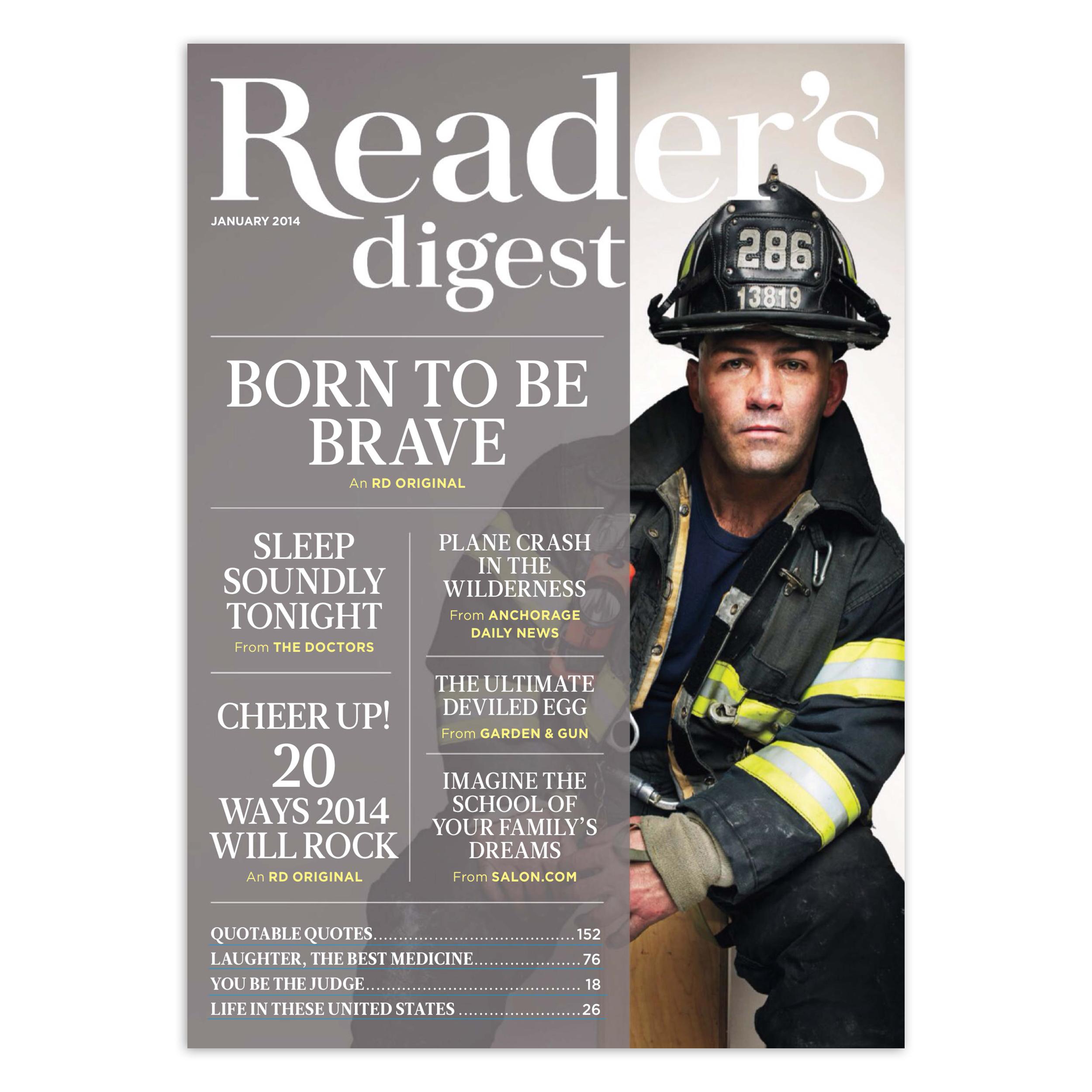 مجله Reader's Digest - ژانویه 2014