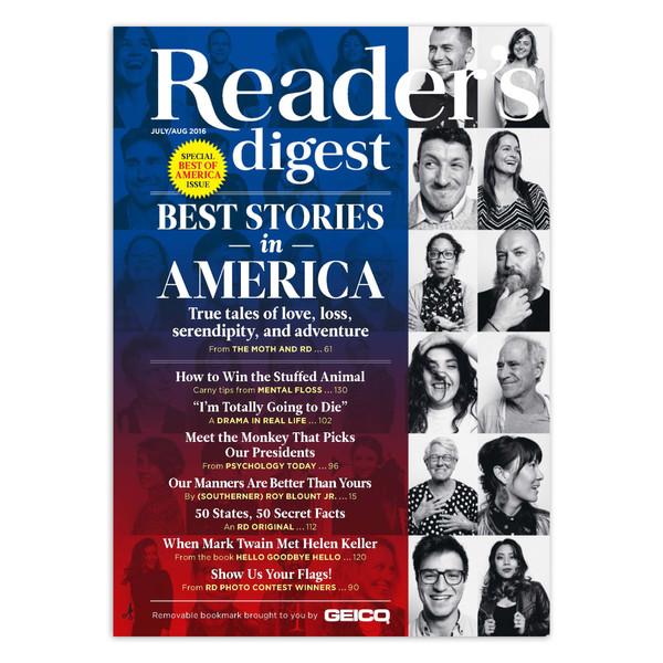 مجله Reader's Digest - جولای اگوست 2016