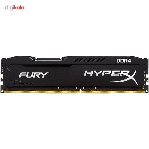 رم کامپیوتر کینگستون مدل HyperX Fury DDR4 2666MHz CL15 ظرفیت 16 گیگابایت main 1 1