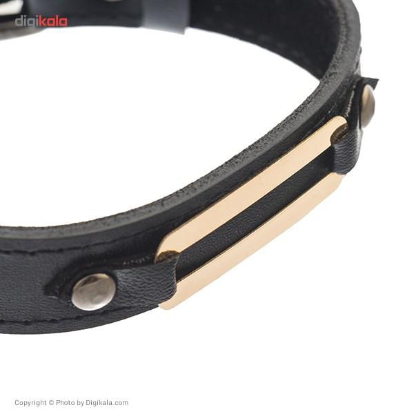 دستبند طلا 18 عیار زرین مدل MB-11