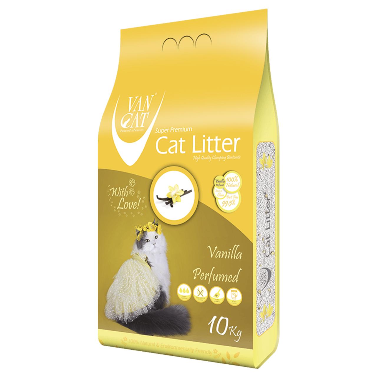خاک گربه ون کت مدل Vanilla وزن 10 کیلوگرم