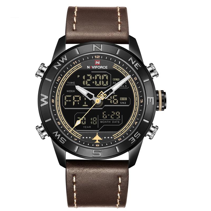 کد تخفیف                                      ساعت مچی عقربه ای مردانه نیوی فورس مدل NF9144M-BRBB