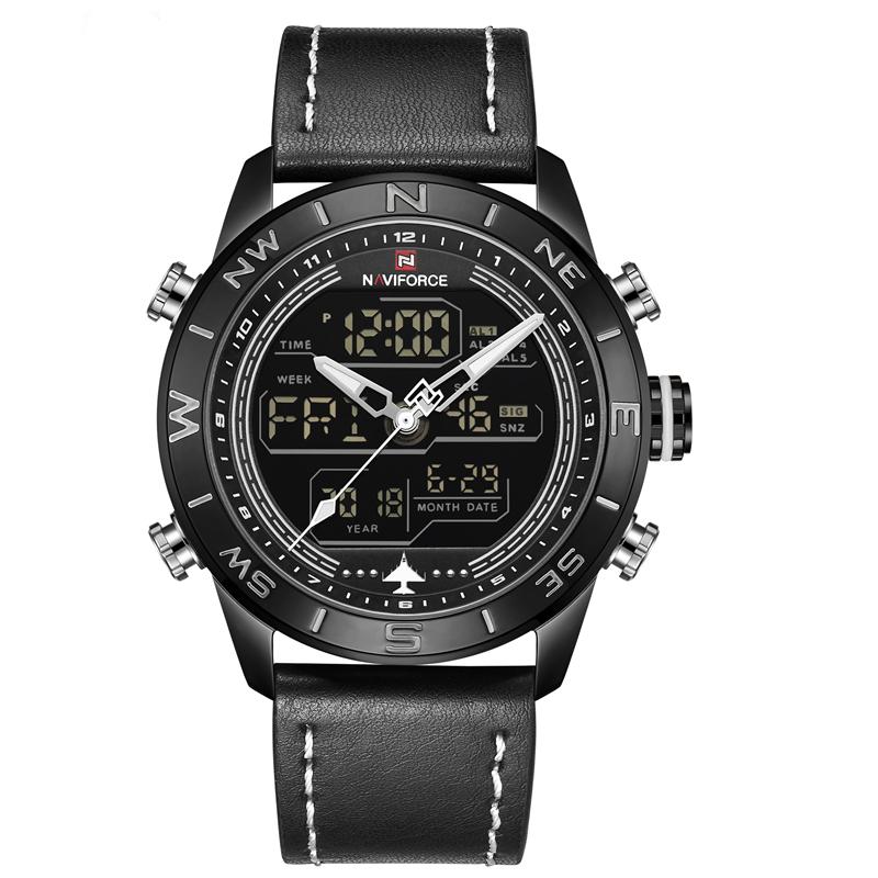 ساعت مچی عقربه ای مردانه نیوی فورس مدل NF9144M-BBW