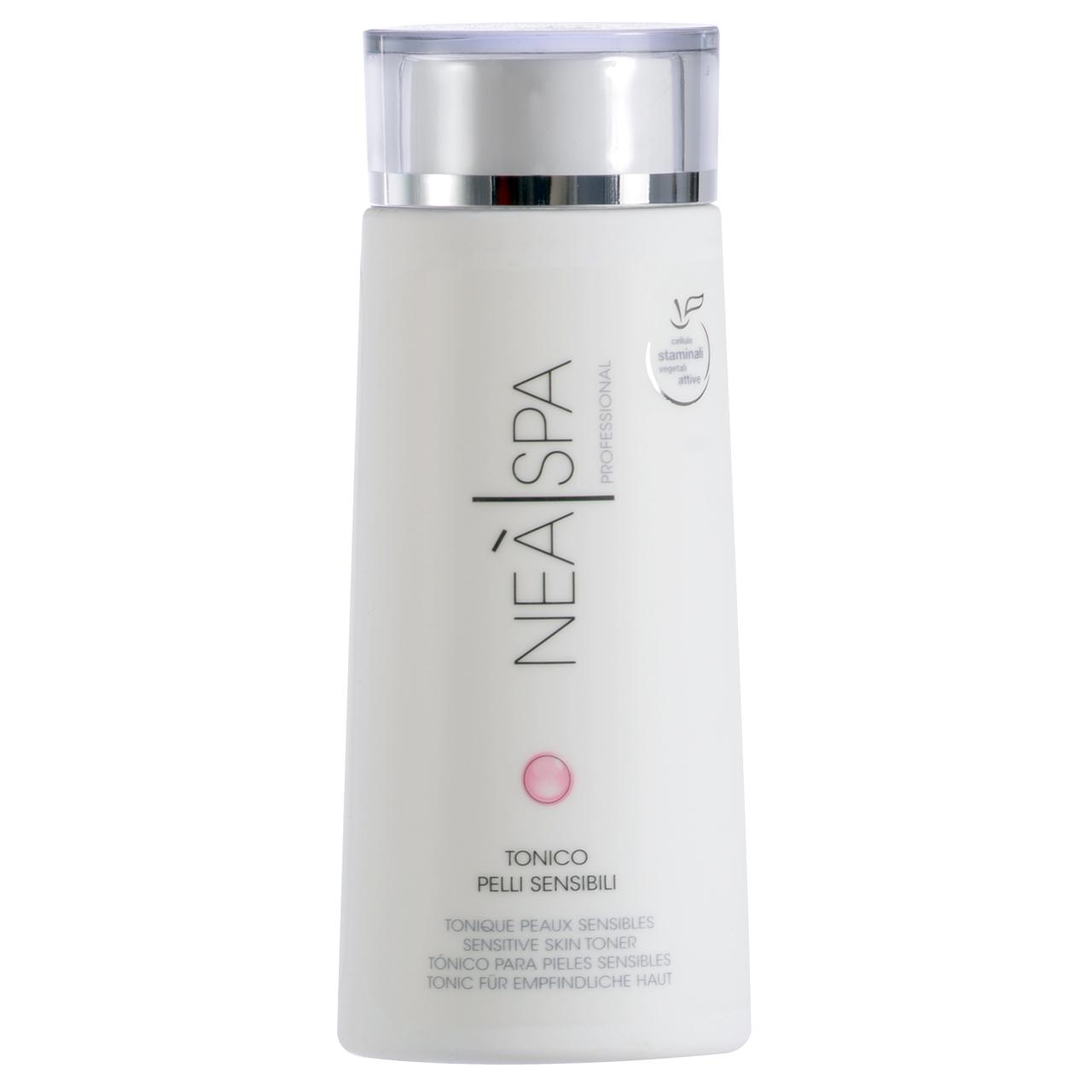 قیمت تونر پاک کننده آرایش صورت نئا اسپا مدل Sensitive Skin Toner حجم 200 میلی لیتر