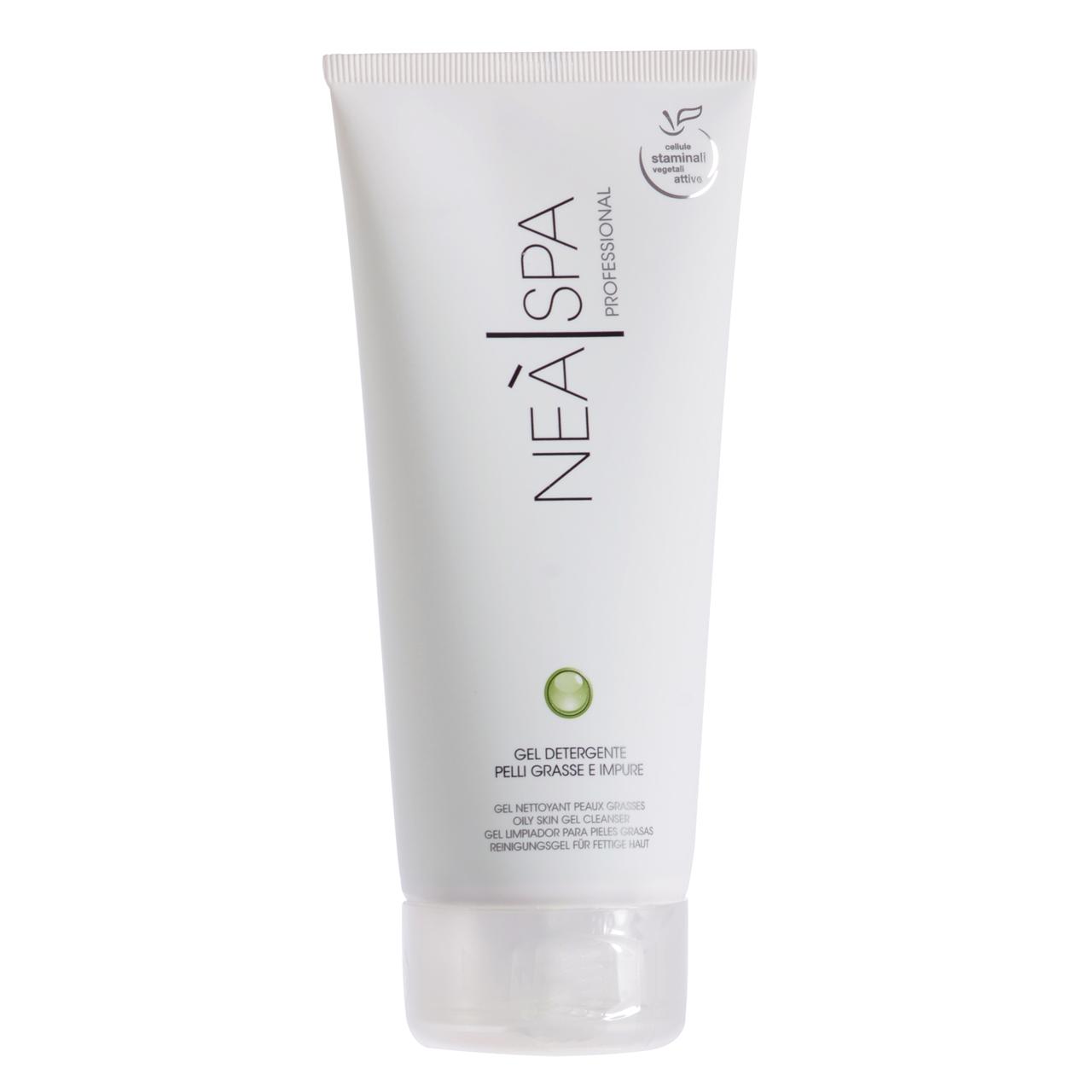قیمت ژل تمیز کننده پوست نئا اسپا مدل Oily Skin Gel Cleanser حجم 200 میلی لیتر