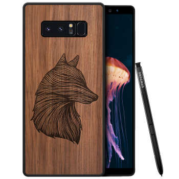 کاور طرح Wolf مناسب برای گوشی موبایل سامسونگ Galaxy Note 8