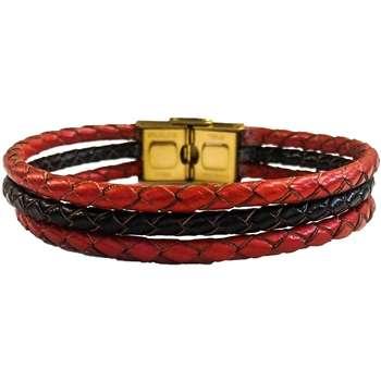 دستبند چرم وارک مدل دایان کد rb359