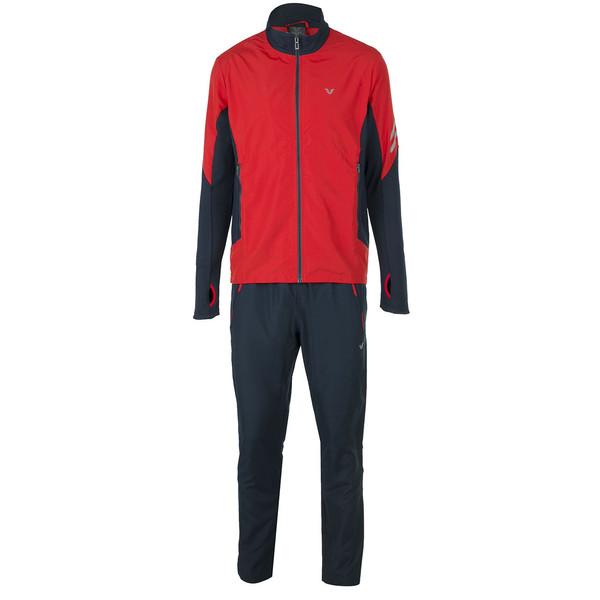 ست سویشرت و شلوار ورزشی مردانه بیلسی مدل 61E0251-MM-NAVY-KIRMIZI