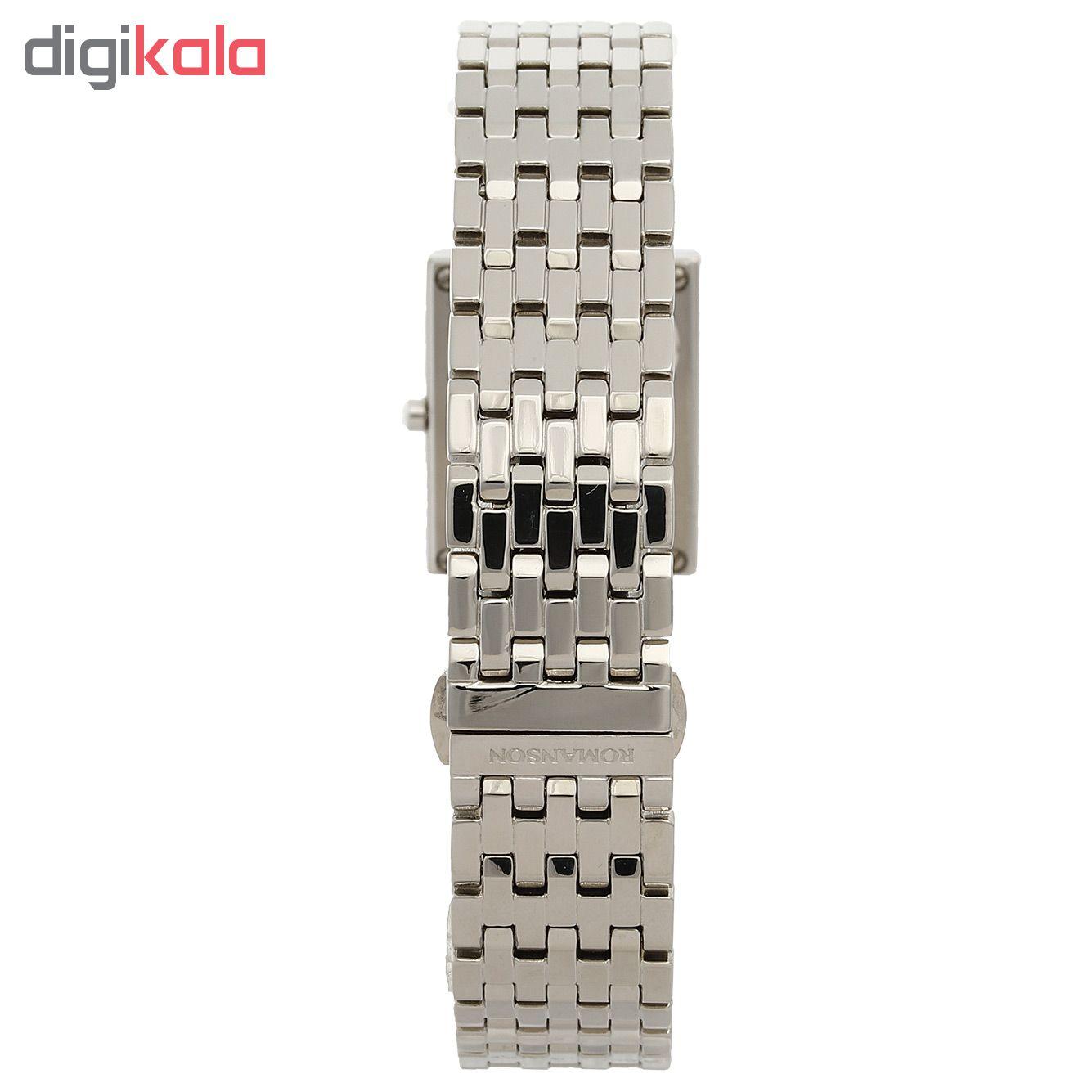 کد تخفیف                                      ساعت مچی عقربه ای زنانه رومانسون مدل EM0208DL1WM12W