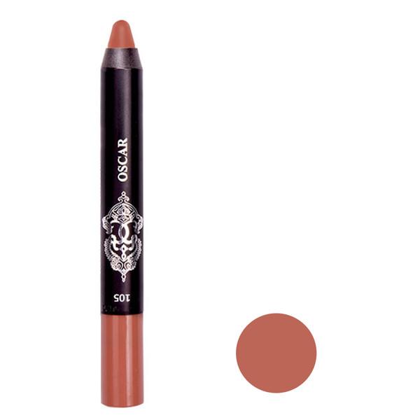 رژ لب مدادی اسکار مدل CHUBBY شماره 105