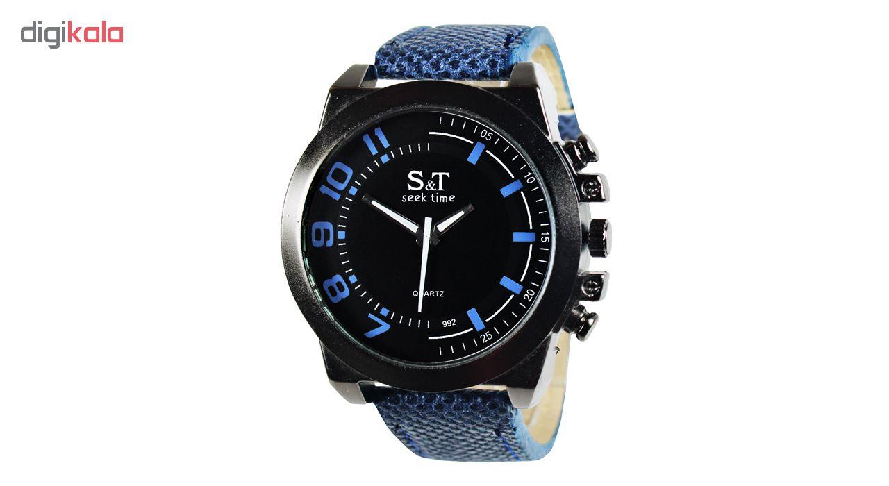 خرید ساعت مچی عقربه ای مردانه اس اند تی مدل Series 5-24 | ساعت مچی