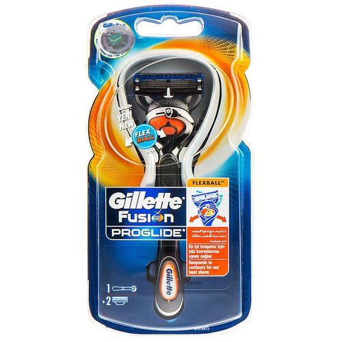 خود تراش ژیلت مدل Fusion Proglide Flexball به همراه یک تیغ یدک