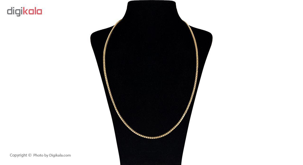زنجیر طلا 18 عیار گوی گالری مدل G72 -  - 3