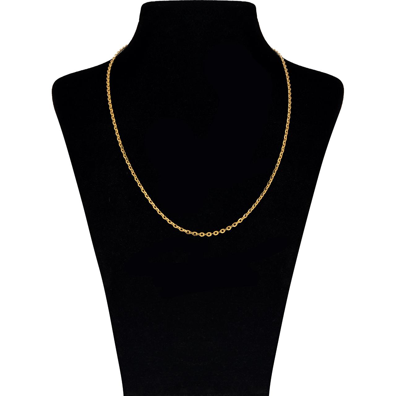 قیمت زنجیر طلا 18 عیار گوی گالری مدل G81