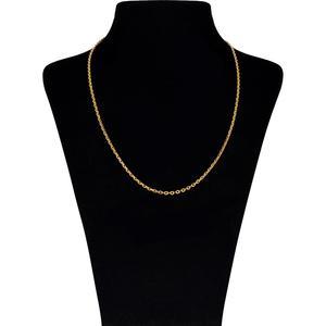 زنجیر طلا 18 عیار گوی گالری مدل G81