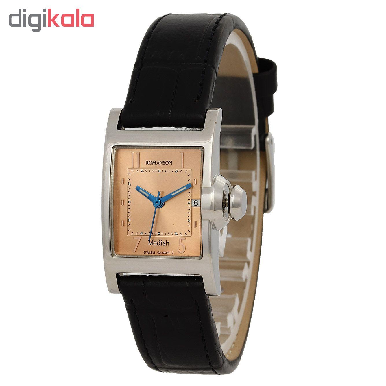 کد تخفیف                                      ساعت مچی عقربه ای زنانه رومانسون مدل DL4110LL1JAC6U