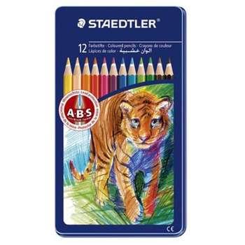 مداد رنگی 12 رنگ استدلر مدل 145