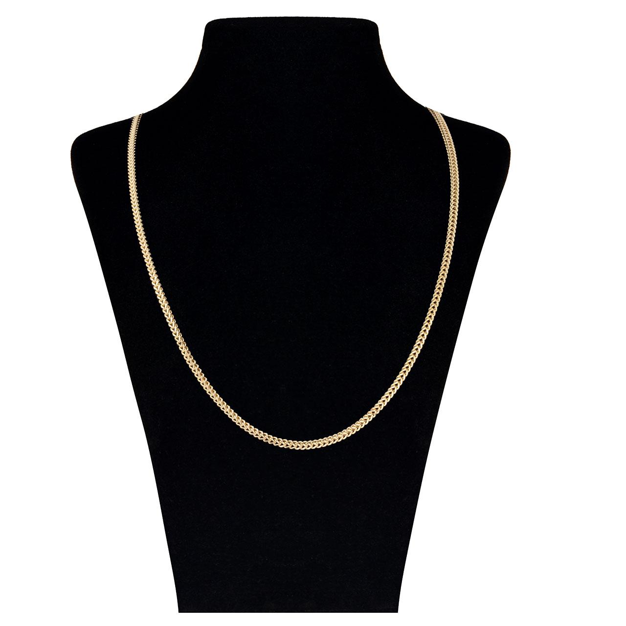 زنجیر طلا 18 عیار گوی گالری مدل G61