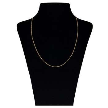 زنجیر طلا 18 عیار گوی گالری مدل G70