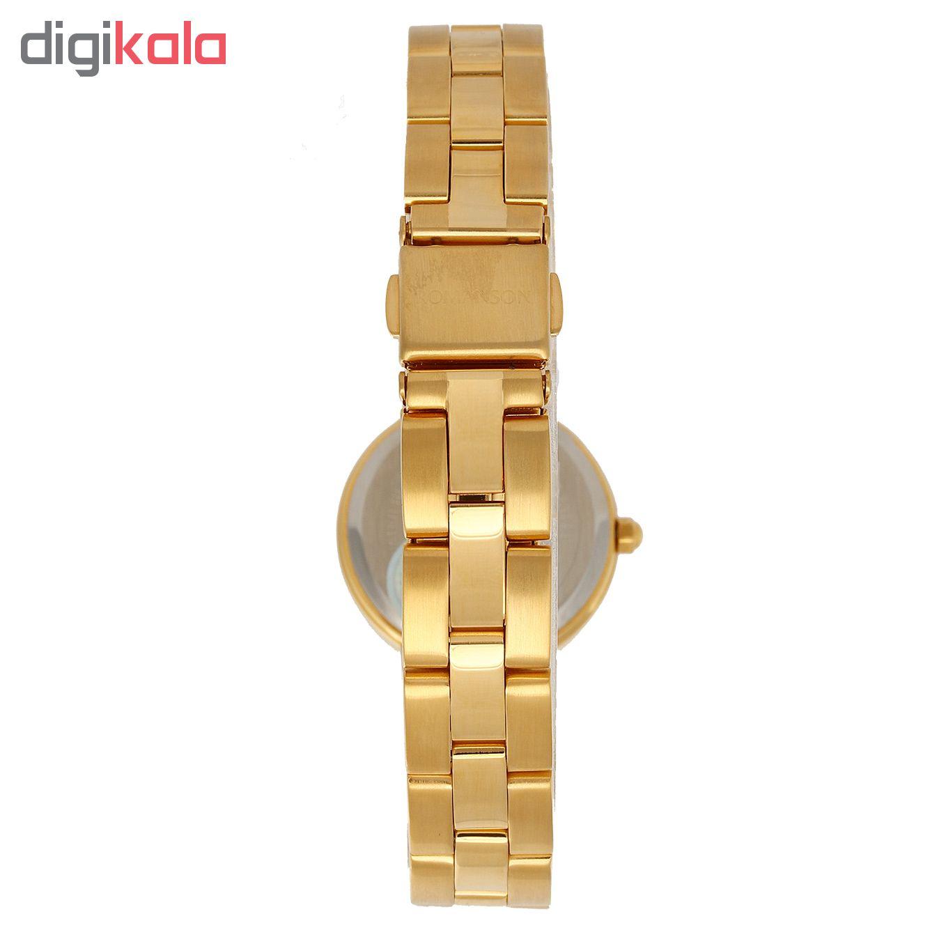 کد تخفیف                                      ساعت مچی عقربه ای زنانه رومانسون مدل DM0104LL1GA81G