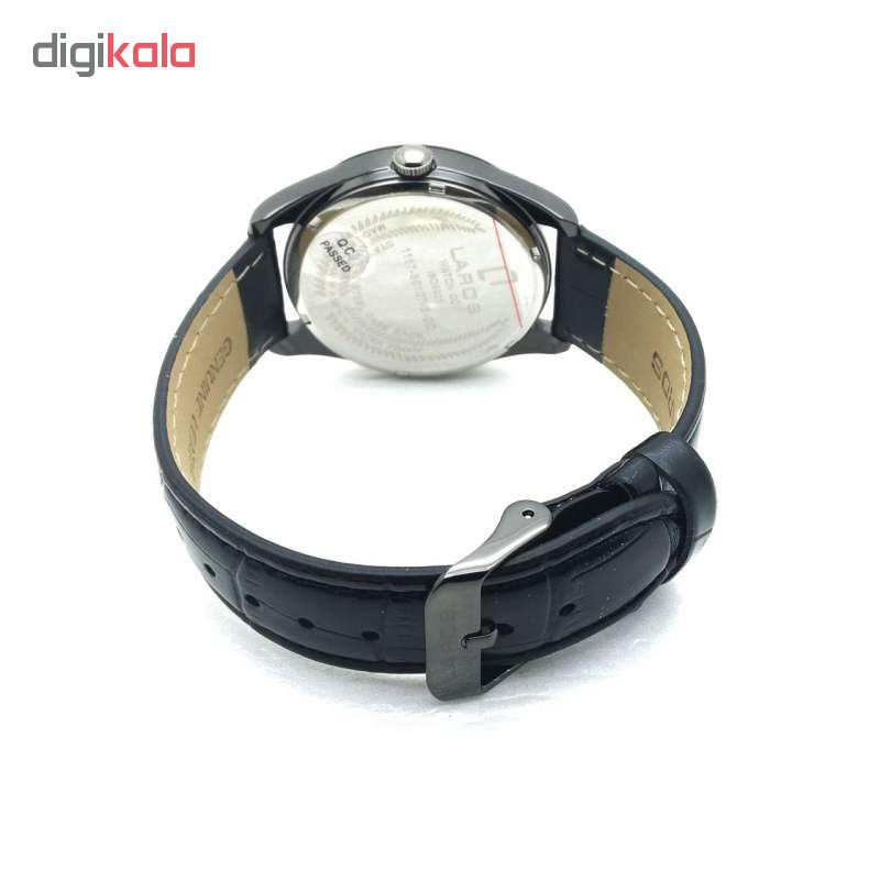 ساعت مچی عقربه ای مردانه لاروس مدل 80127SDD              خرید (⭐️⭐️⭐️)