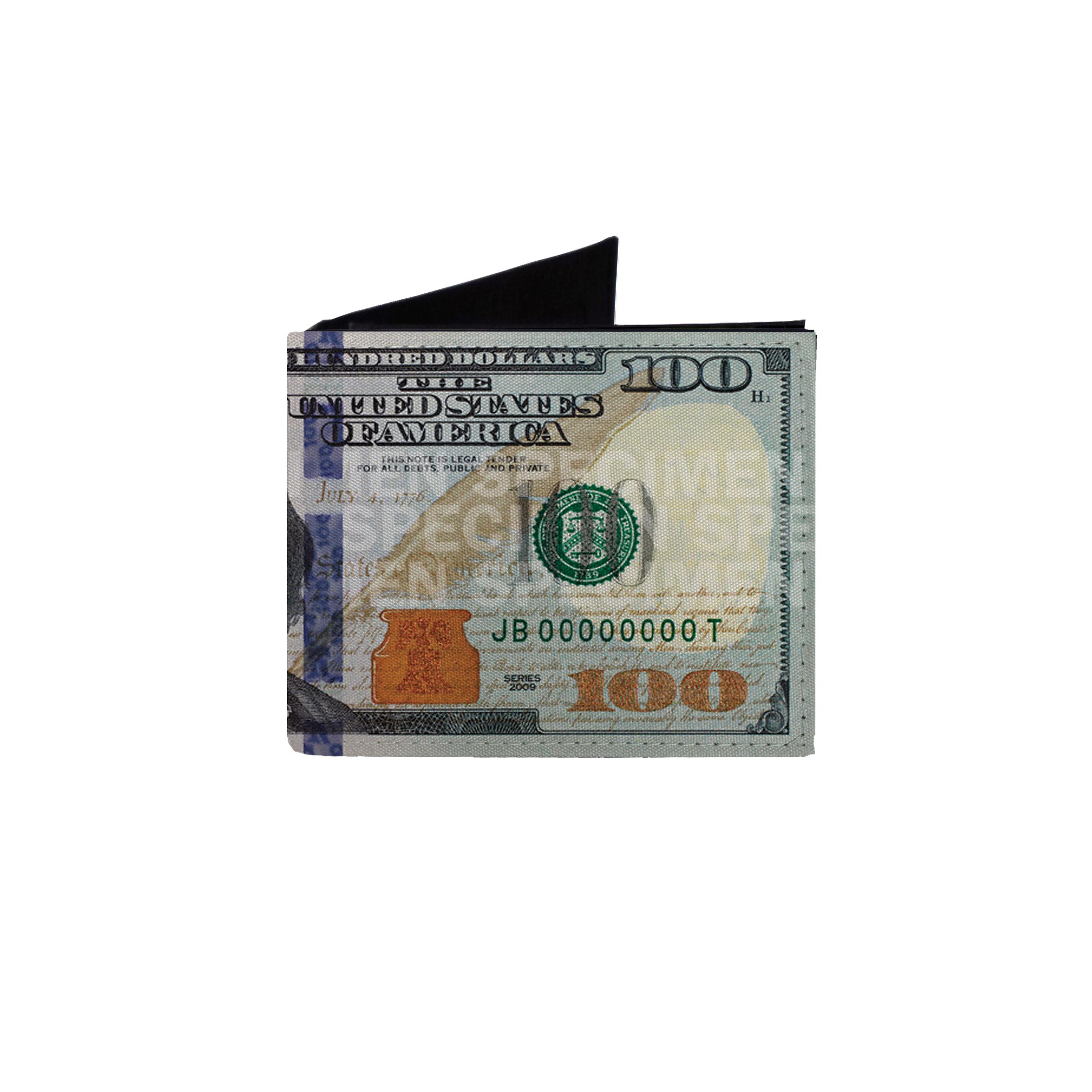 کیف پول طرح صد دلاری