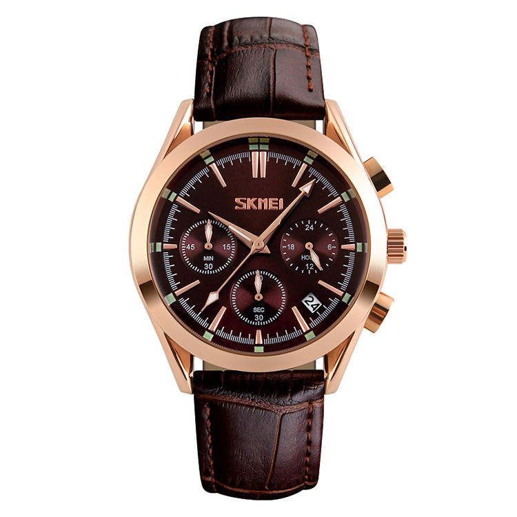 کد تخفیف                                      ساعت مچی عقربه ای مردانه اسکمی مدل S9127/Brown
