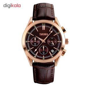 ساعت مچی عقربه ای مردانه اسکمی مدل S9127/Brown  Skmei S9127/Brown Watch For Men