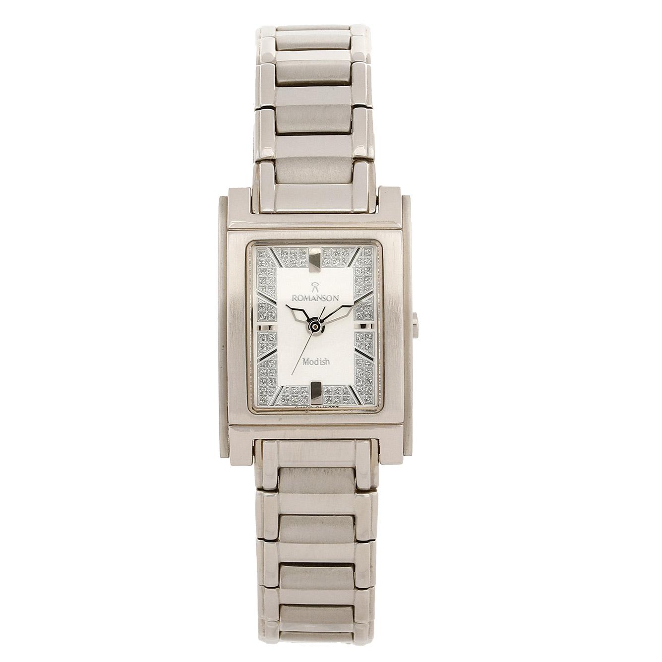 کد تخفیف                                      ساعت مچی عقربه ای زنانه رومانسون مدل DM3110LL1WAS2W