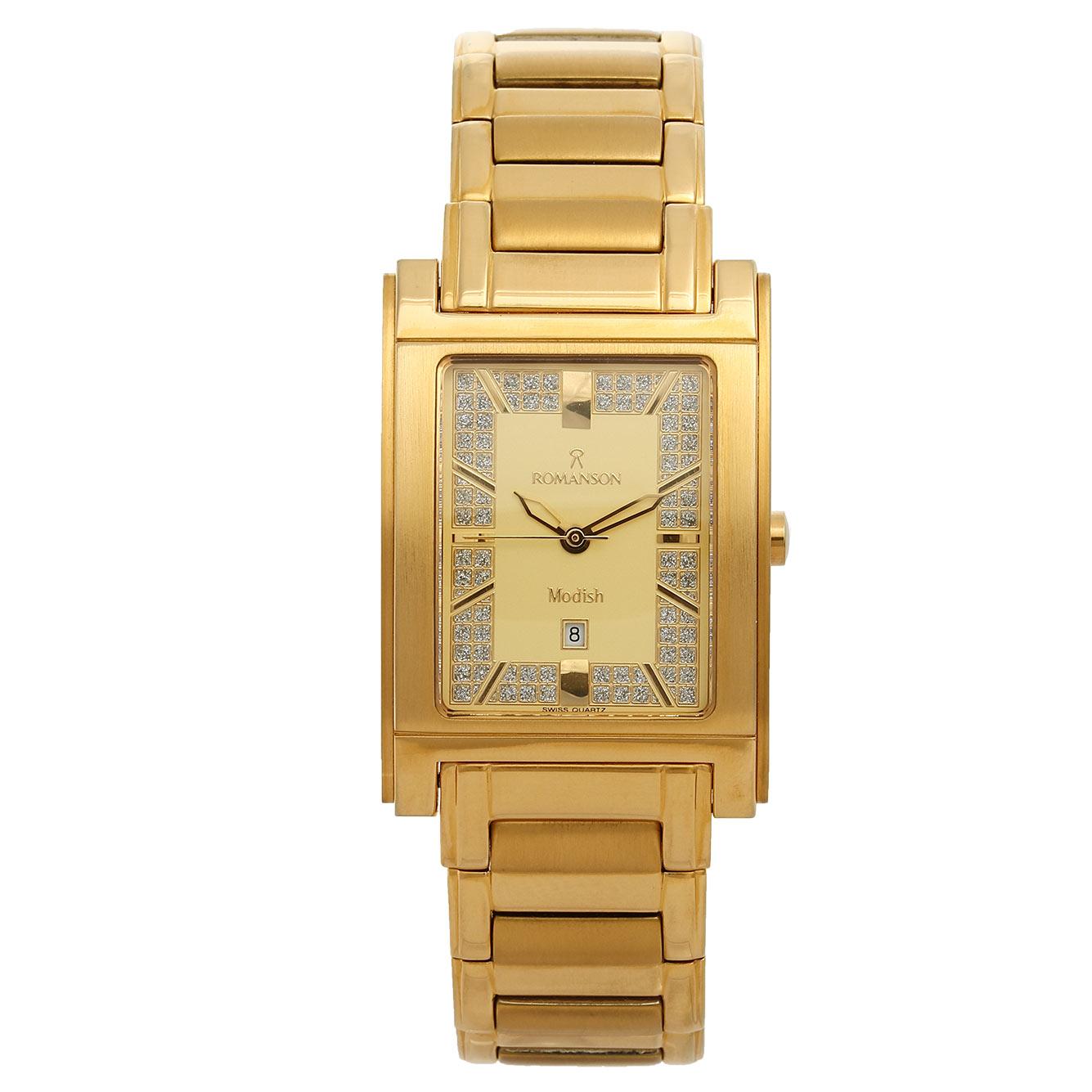 ساعت مچی عقربه ای مردانه رومانسون مدل DM3110MM1GA81G